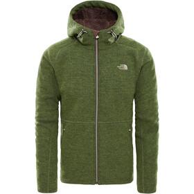 The North Face Zermatt Full Zip Hoddie Jacket Herr four leaf clover heather